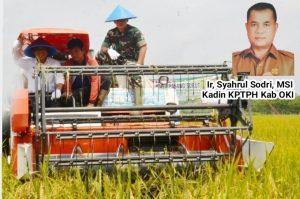 Kabupaten OKI salah satu Daerah Penyangga Pangan Nasional melalui Program Food Estate