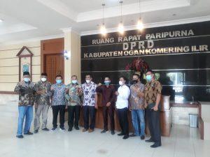 DPRD Lampung Tengah Berkunjung Ke DPRD Kabupaten OKI